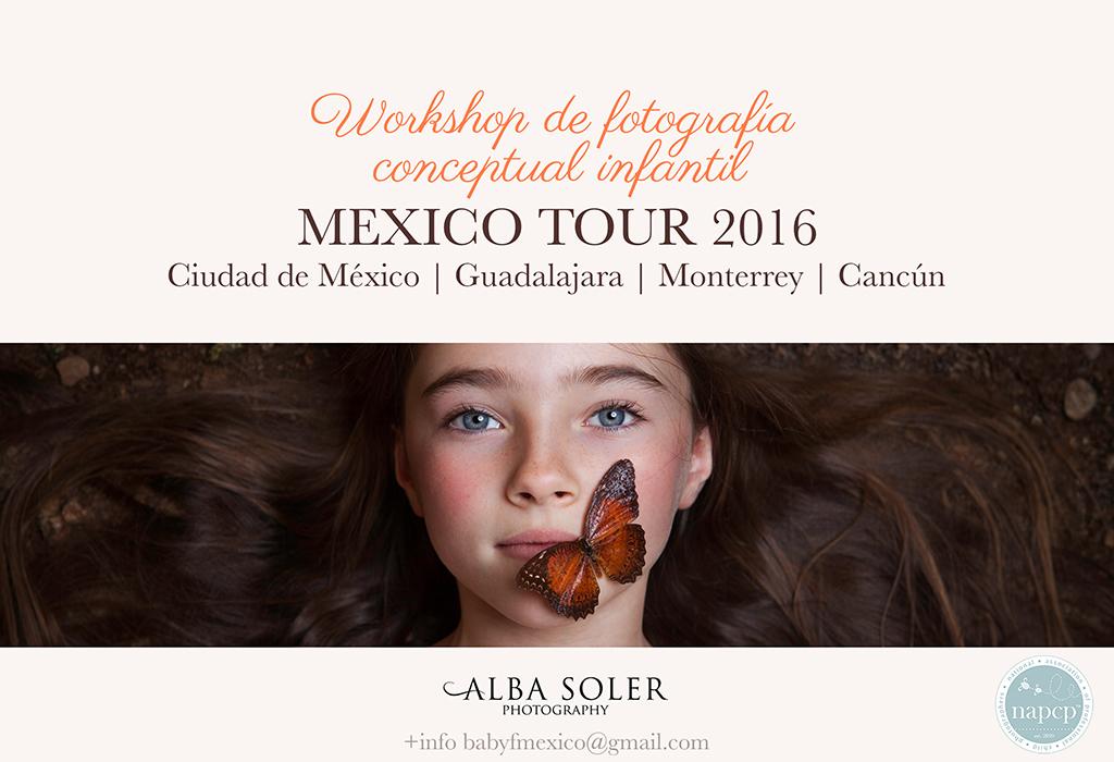 Alba Soler Mexico Tour 2016