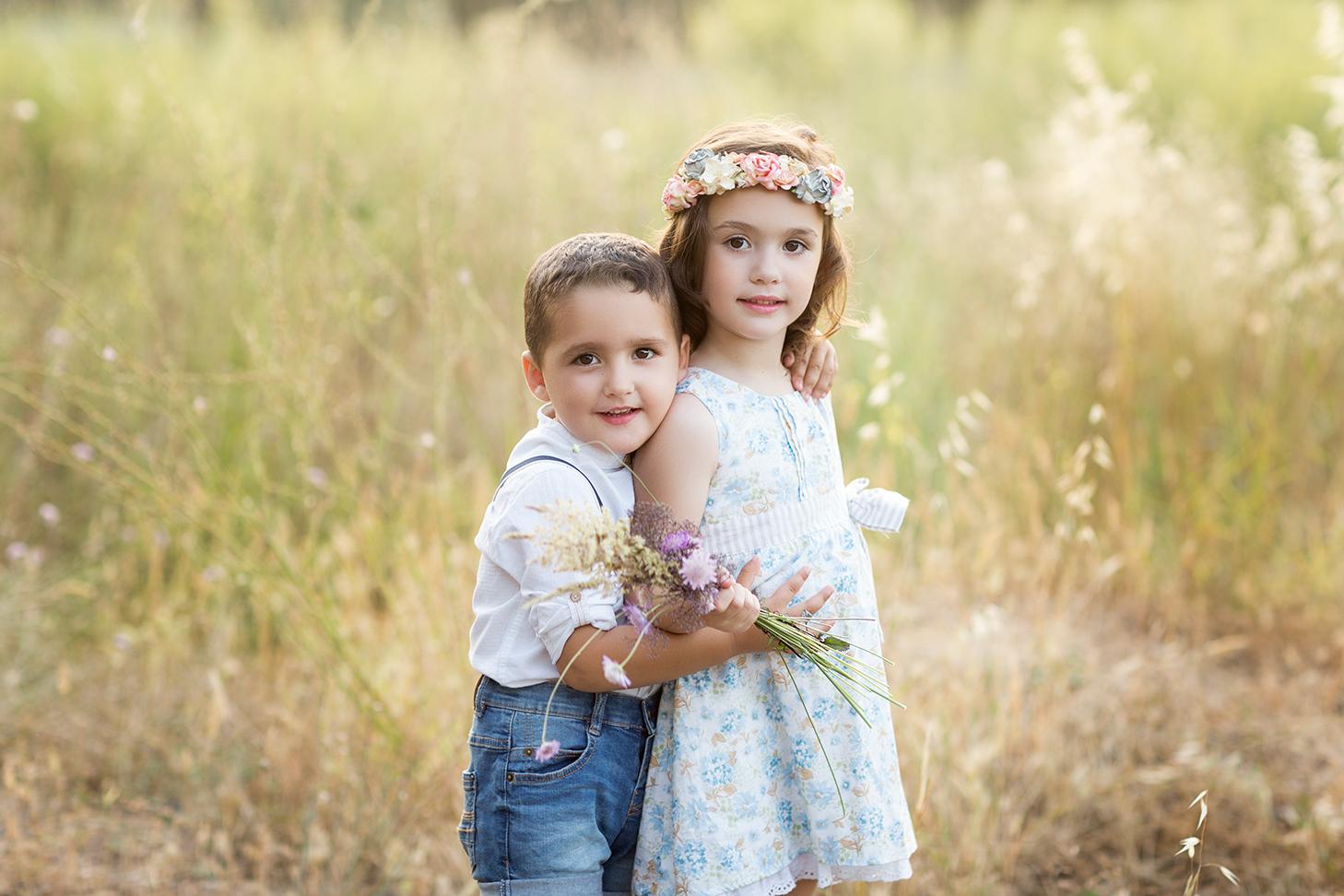 fotografía infantil en Valencia hermanos