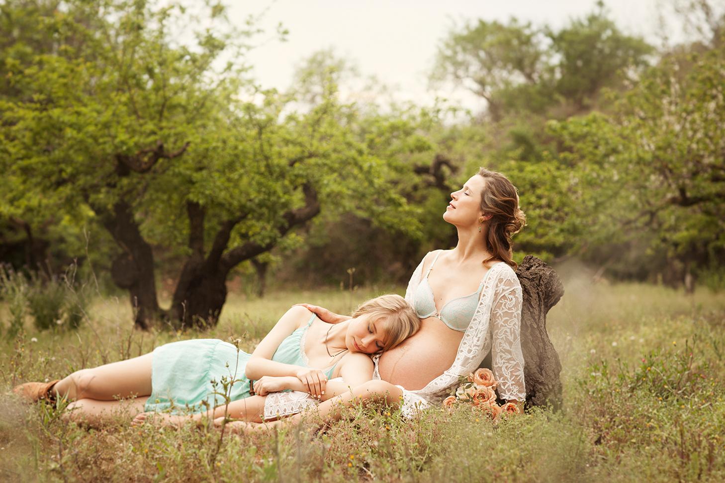 fotografia de embarazo en valencia