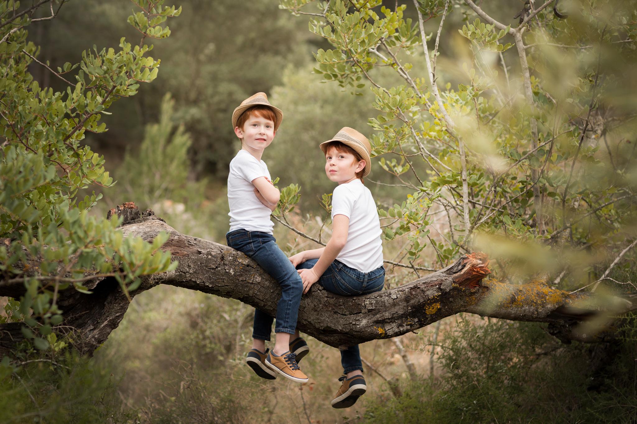 sesión de fotos de niños