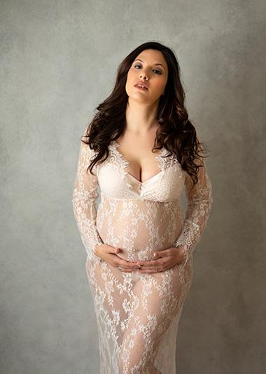 Glamour fotografia de embarazo en valencia