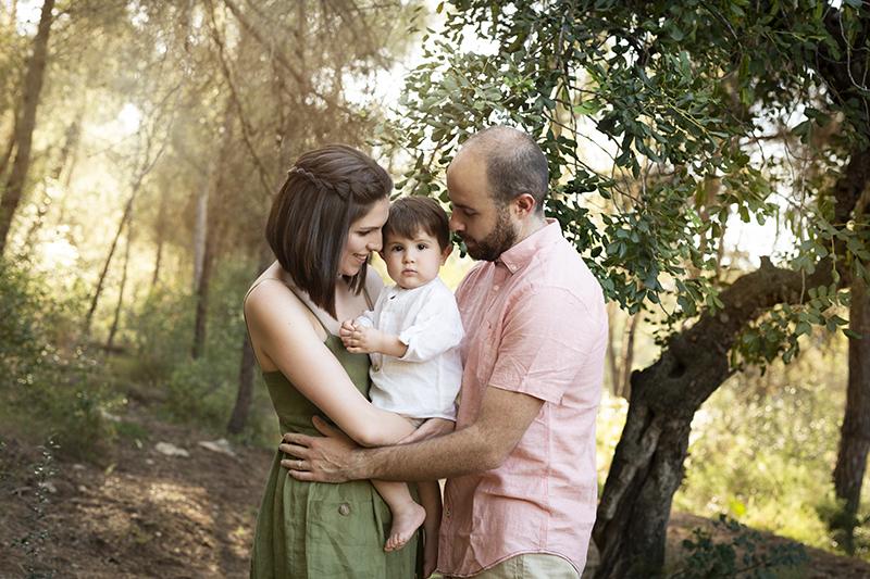 Fotografía de familia en Valencia con mucho amor