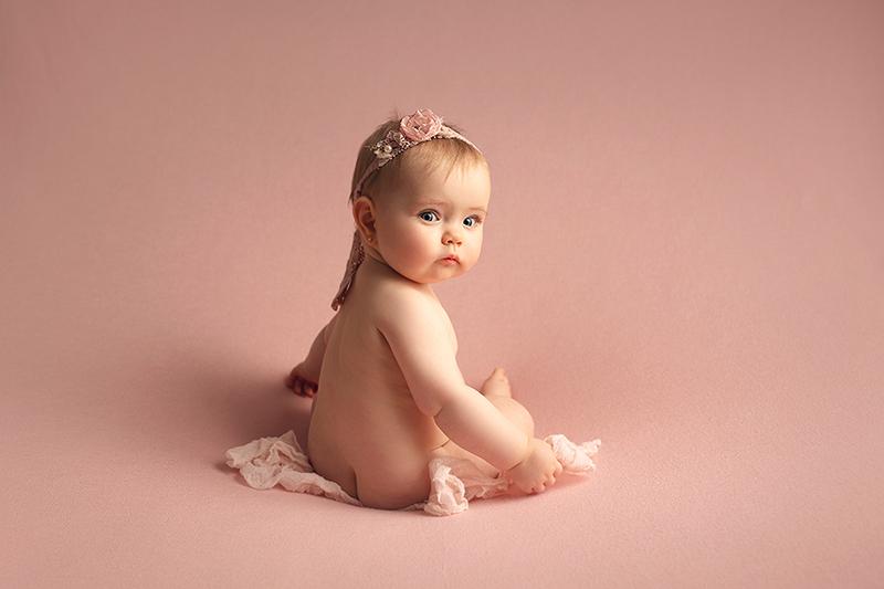 Fotos de bebes de meses en Valencia