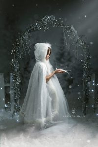 Sesiones de fotos de Navidad de fantasía