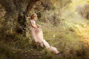 sesiones de fotos de pequeñas princesas
