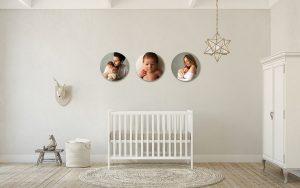 fotografía de niños y familias