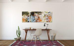 fotos familiares para decorar la casa