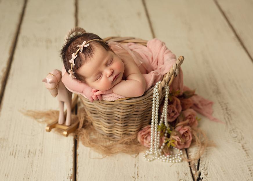 Curso de fotografía de recién nacido