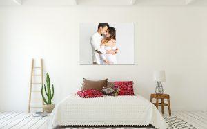 decorar tu casa con fotos de tu embarazo -