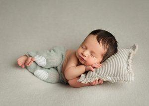 almohada recién nacido