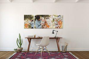 decoración con fotos para casa
