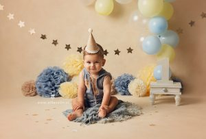 fiesta de cumpleaños de bebé