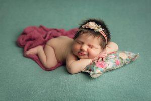 almohadita para sesión de fotos de recién nacido