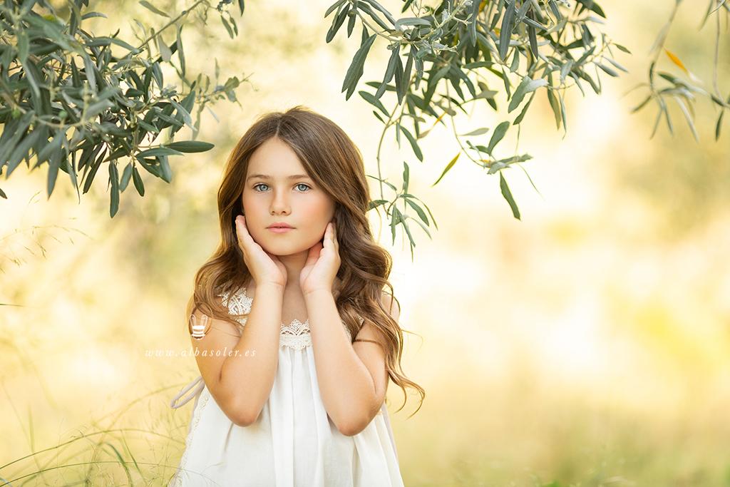 fotos de comunión de niña
