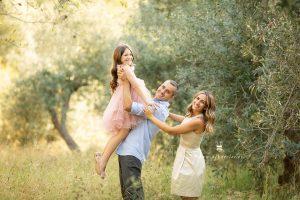 Fotos de primera comunión en familia