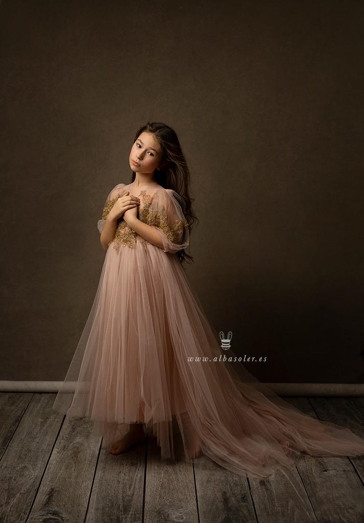 Fotografía de retrato fine art infantil